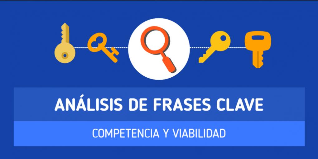 Análisis de competencia de Keywords o Frases Clave
