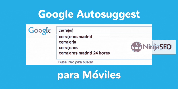 Sugerencias de Google para Dispositivos Moviles