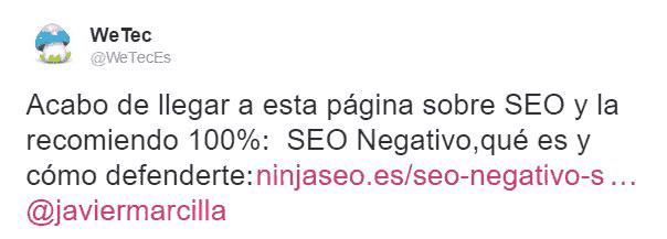 NinjaSEO-recomendado-en-twitter-por-wetec