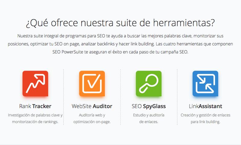 SEO Powersuite es la mejor recopilación de herramientas SEO