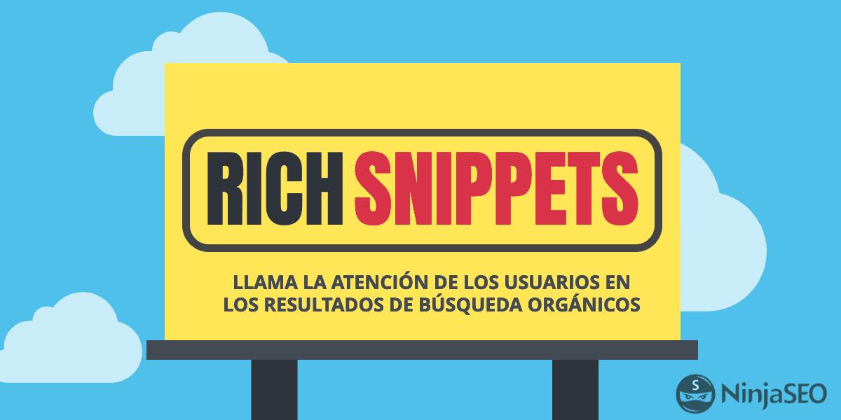 Aprende a mejorar el CTR de tus resultados orgánicos con Rich Snippers - NinjaSEO